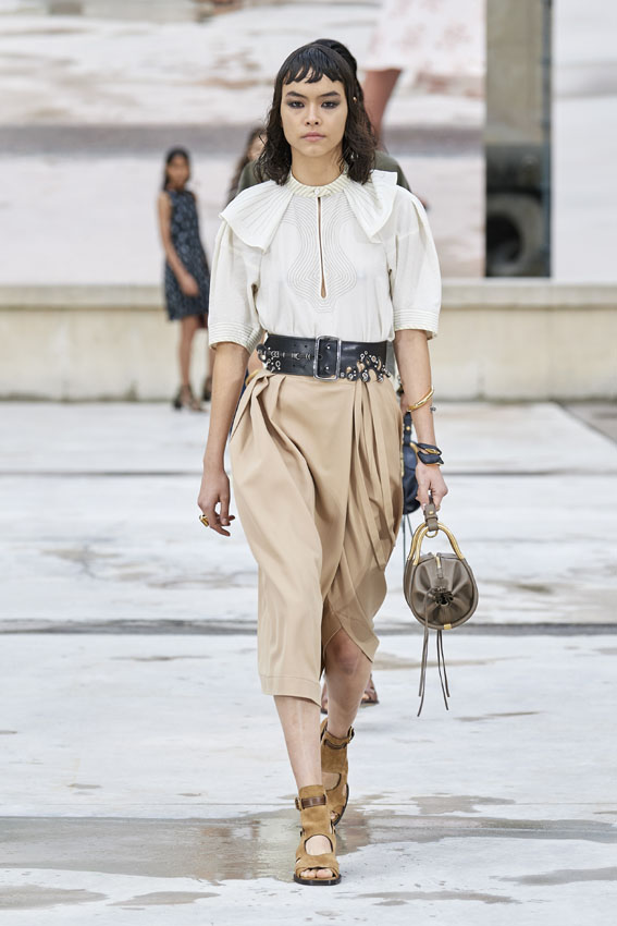 Paris Fashion Week: Chloé Primavera/Verano 2021.