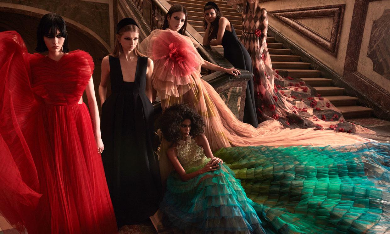 Las princesas de Dior conquistan Versalles: una colección de 'cuento de hadas'