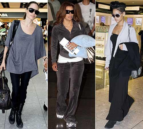 En el aeropuerto: ¡Vístete como una 'celebrity'!