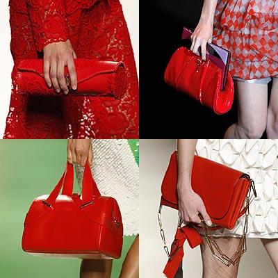 Famosas 'al rojo vivo': ¿De qué 'celebrities' son estos bolsos?