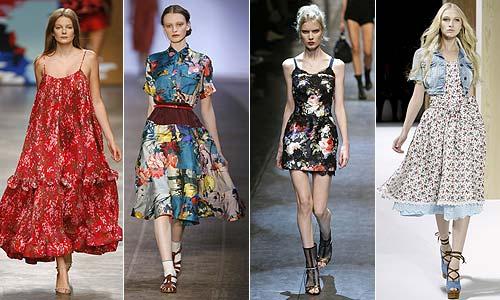 Estampado de moda: Flores para ser la más famosa de la temporada