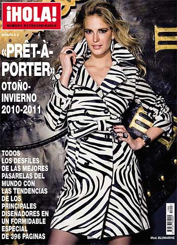 A la venta, especial moda 'prêt-à-porter' otoño-invierno 2010-2011 de la revista ¡HOLA!
