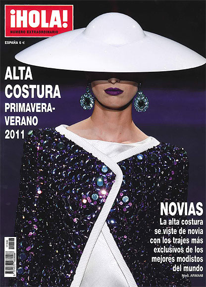 A la venta, especial 'Alta Costura' primavera-verano 2011 de la revista ¡HOLA!