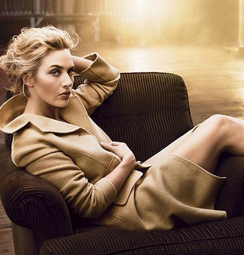 'Nude', 'lady', chic... Kate Winslet nos presenta las tendencias para otoño-invierno 2011-2012