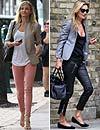 'Celebrity style': ¿Con qué calzado complemento mis pantalones pitillo?