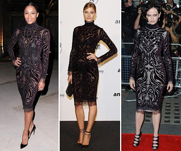 Los favoritos de las 'celebrities': Ciara vs Constance Jablonski vs Eva Green