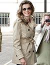 'Celebrity style': Letizia Ortiz, Pippa Middleton, Taylor Swift, Kylie Minogue... ¡con 'trench' en un día de lluvia!