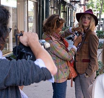 Naty Abascal nos desvela las tendencias de la temporada durante una sesión fotográfica en Nueva York