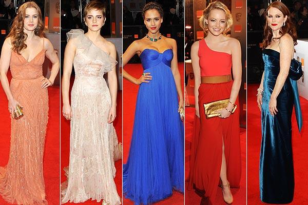 Premios Grammy y BAFTA: ¡Fin de semana de moda sobre la alfombra roja!