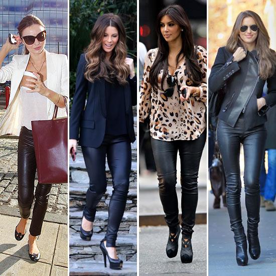 39 celebrity style 39 cuero y vinilo para un 39 look roquero 39 - Tendencias actuales moda ...