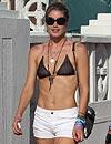 Doutzen Kroes, una escultural modelo, de vacaciones en Miami
