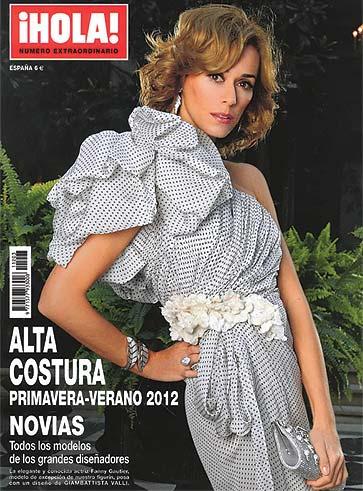 A la venta el especial Alta Costura primavera-verano 2012 de la revista ¡HOLA!