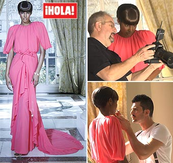 'Making of': Juanjo Oliva y Sessilee López, juntos con la moda para esta primavera-verano 2012