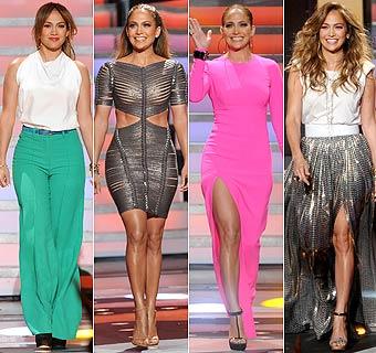 'Celebrity Style': Jennifer López, una juez 'a la última' en 'American Idol'