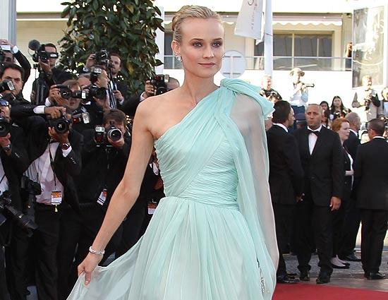 Diane Kruger se proclama 'reina del estilo' en la última edición del Festival de cine de Cannes
