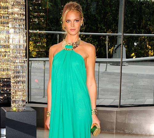 Erin Heatherton, la 'mejor vestida' de los CFDA 2012