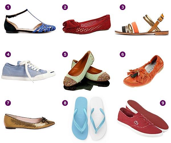 Especial calzado de verano: ¿plano o con tacón?