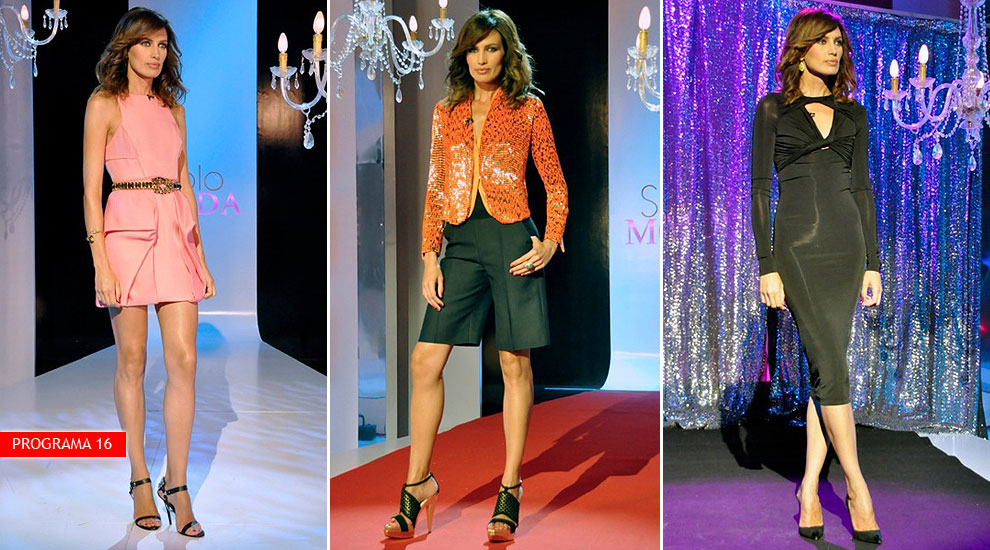 Nieves Álvarez rinde homenaje a la moda 'made in Spain' en su