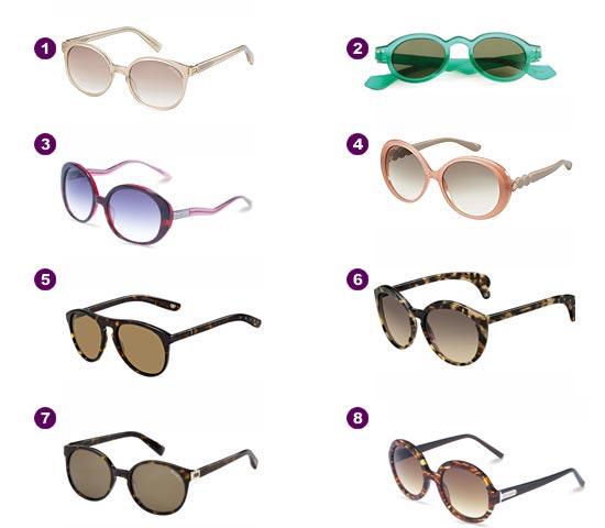 Gafas de sol estilo 'hippy'