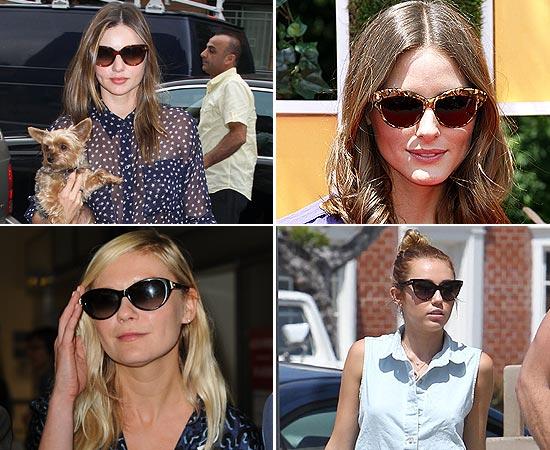 Gafas de sol 'estilo ojos de gato'
