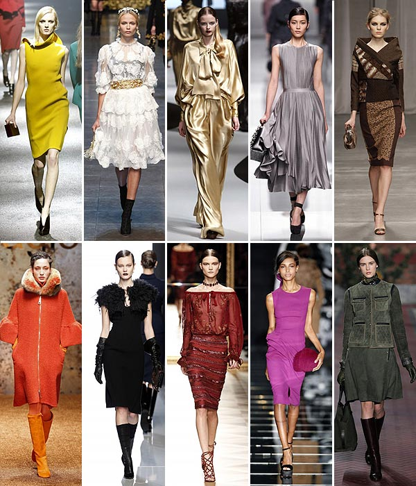Adelanto de tendencias: ¿Qué colores se van a llevar durante el otoño-invierno de 2012-2013?