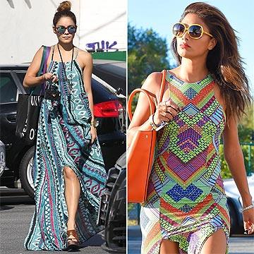 'Printed dress' étnico: ¿Cómo lo complemento?