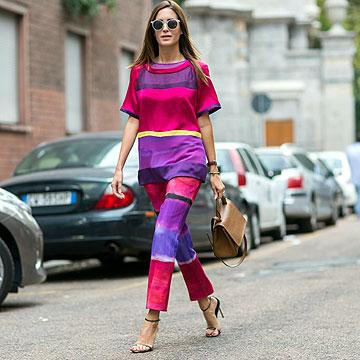 'Street style': 'Tips' de moda para ser la estrella del 'front row'