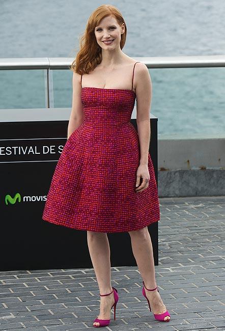 Jessica Chastain y su 'retro-glamour': ¿Sabes qué diseños fascinan a la actriz?