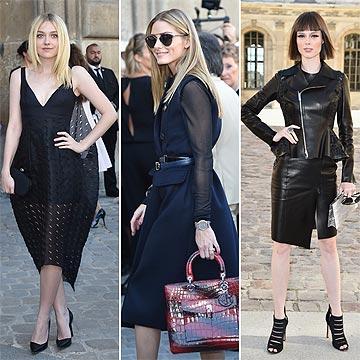 Desde el 'front row' del desfile de Dior: Di 'sí' a los tonos oscuros, pero 'no' a la sobriedad