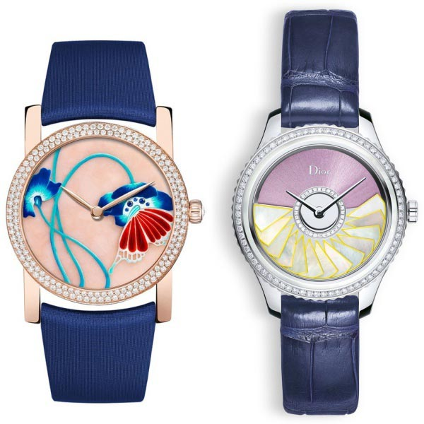 Relojes Chaumet y Dior