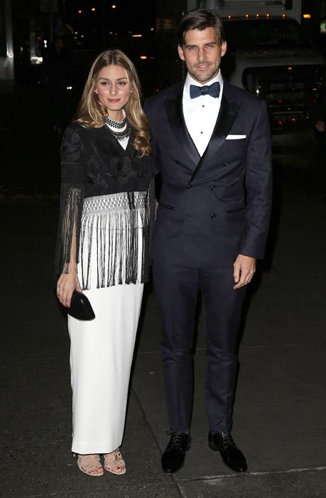 Olivia Palermo y Johannes Huebl, las estrellas más deslumbrantes de la 'Night of Stars' 2014