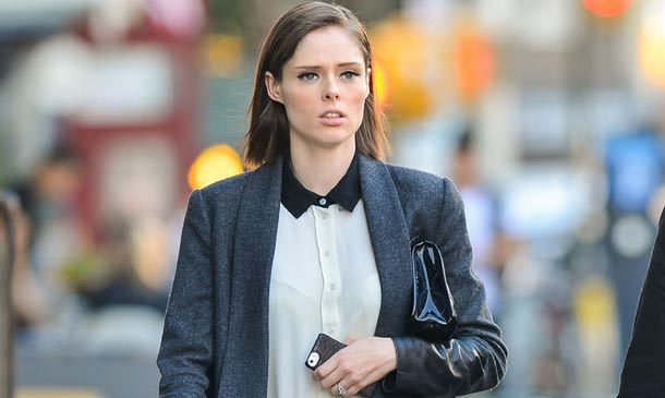 Coco Rocha, una 'working girl' premamá: ¡Copia su 'look'!