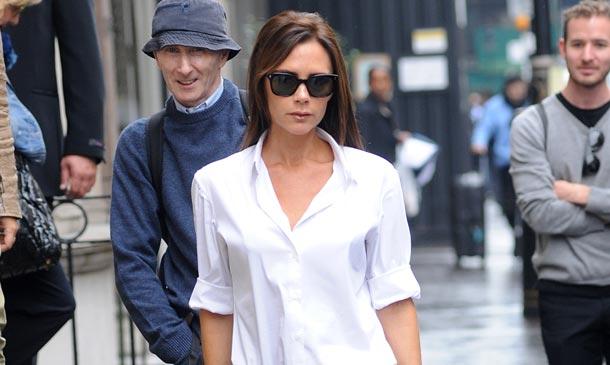 Minimalista y 'preppy', el nuevo estilo de Victoria Beckham