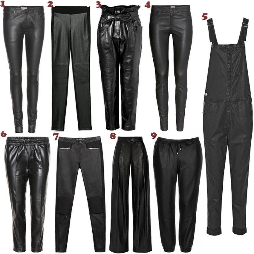 e7525ee55 ...  Shopping   Pantalones de cuero.