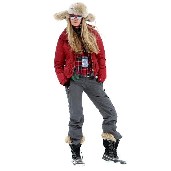 'Slalom trendy': Moda para pisar la nieve con mucho estilo