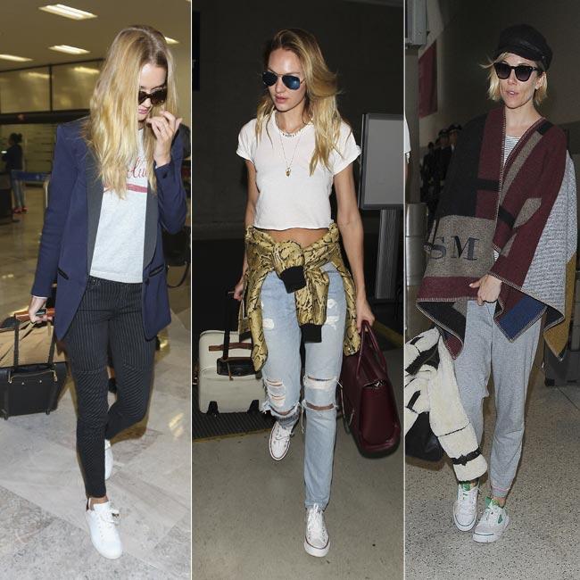 Zapatillas blancas, tendencia de moda