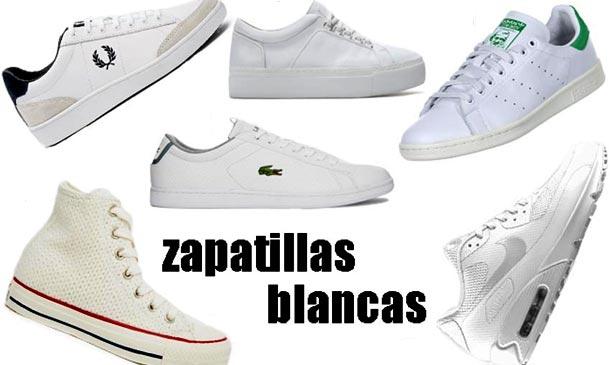 27774bf9fc Zapatillas blancas