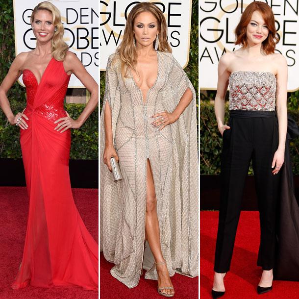 Votación: ¿Quién ha sido la más elegante sobre la alfombra roja de los Globos de Oro 2015?