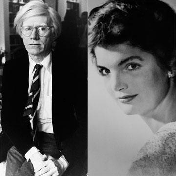 Dos grandes tesoros en tu muñeca… by Jacqueline Kennedy y Andy Warhol