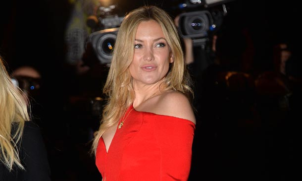 Kate Hudson y su 'rouge affaire' en París