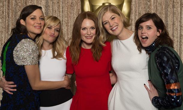 Cinco estilos de Oscar: Actrices sobre la alfombra roja