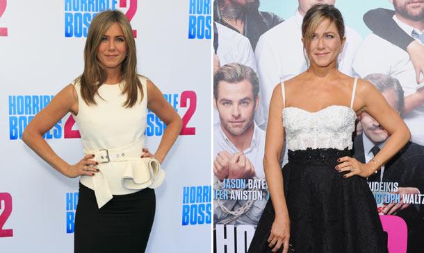 Jennifer Aniston, una estrella en blanco y negro