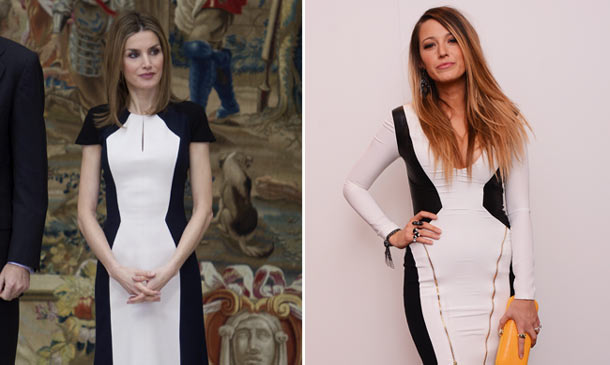 Blake Lively, ¿inspiración 'fashion' de doña Letizia y la Duquesa de Cambridge?