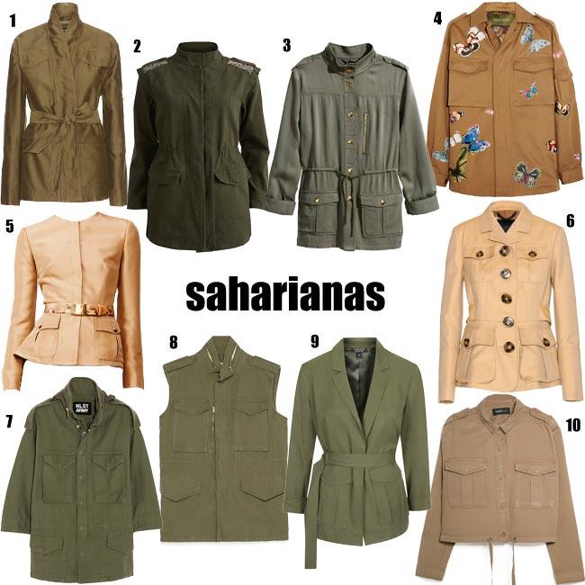 Sahariana, la chaqueta más 'trendy'