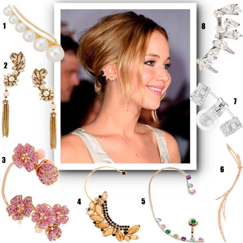 Especial joyas: 'Ear cuffs' de lujo