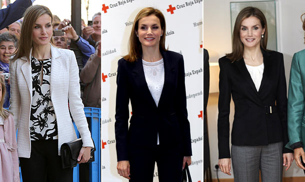 La semana 'working girl' de doña Letizia