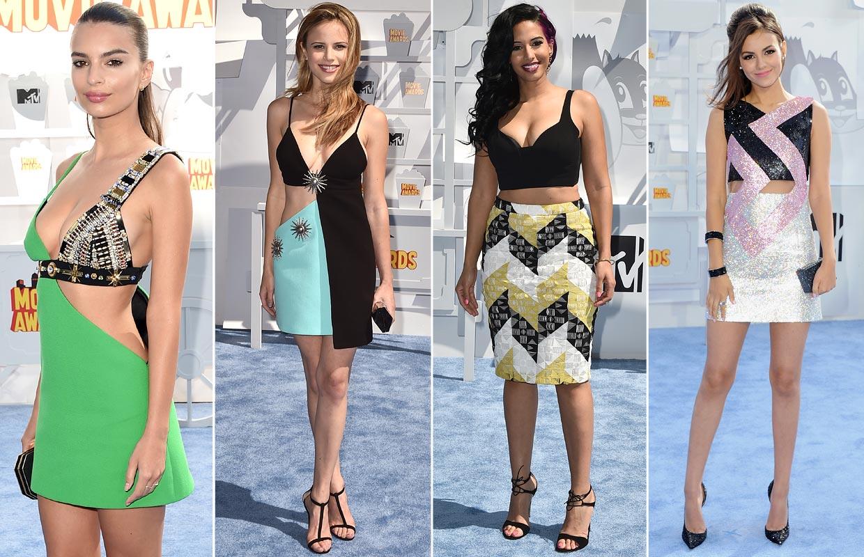 Detalles 'fashion' sobre la 'alfombra roja' de los MTV Movie Awards 2015