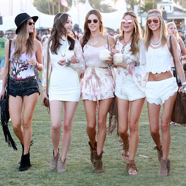 Coachella 2015: 'Hippie chic', 'folk'... Así han sido los 'looks' de su primer fin de semana