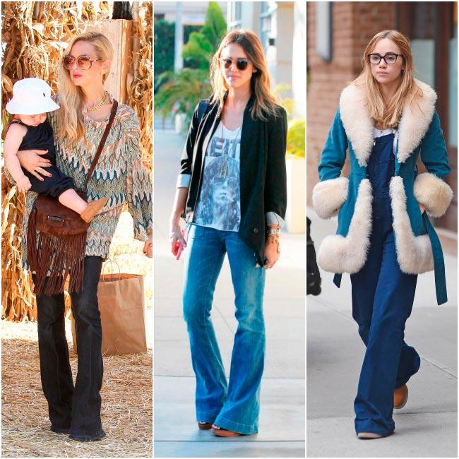 Estilo Seventies; la nueva tendencia de moda para este otoño