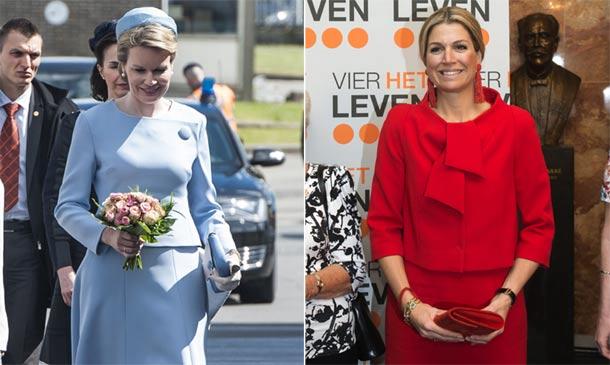 Duelo 'royal': Tonos pastel 'vs.' colores vibrantes